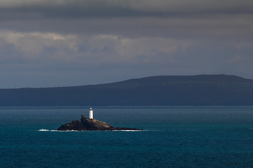 godrevylighthouse godrevyisland gwithianbeach stives stivesbay hayle cornwall lighthouse seascape coast england uk canon 80d 300mmf4lis