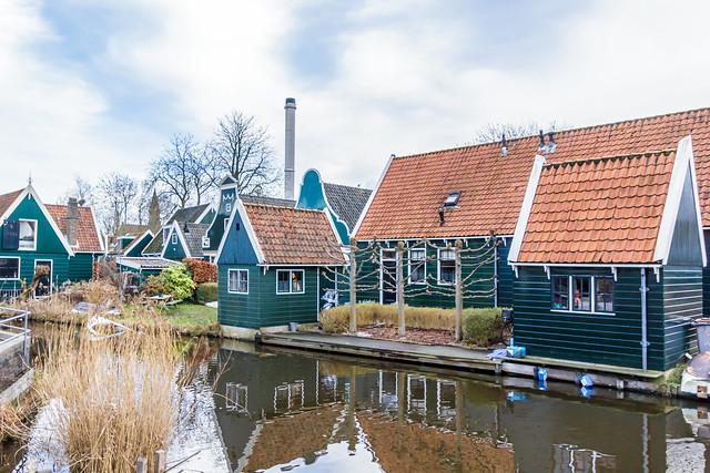 Orgelmakersgracht - Oud Zaandijk