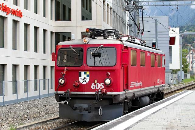 RhB Ge 4/4 I 605 Chur Hbf