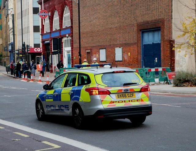 Metropolitan Police Service - BX66GZF