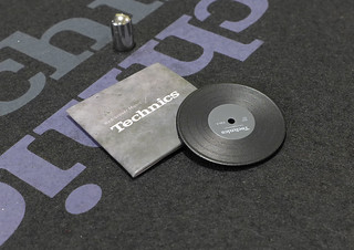 Technics Miniature set - vinyl record with sleeve | by Nicadraus