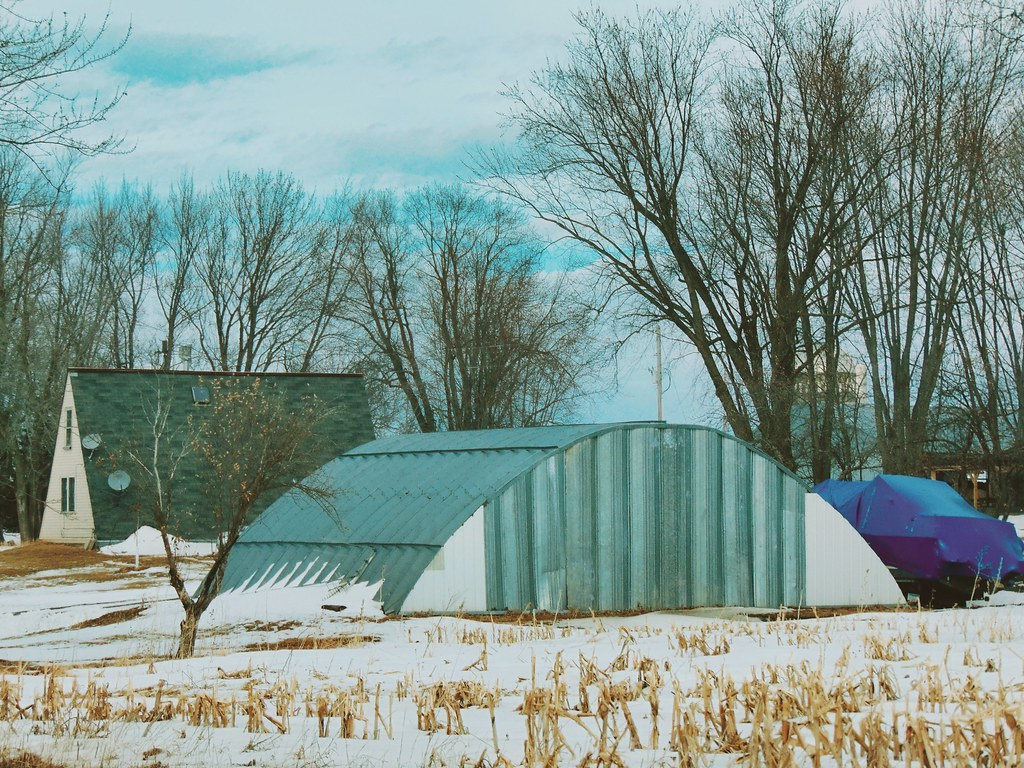 Quonset and an A Frame