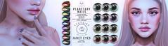 Ladybird. // Planetary Nails & Janet Eyes @ Planet29!