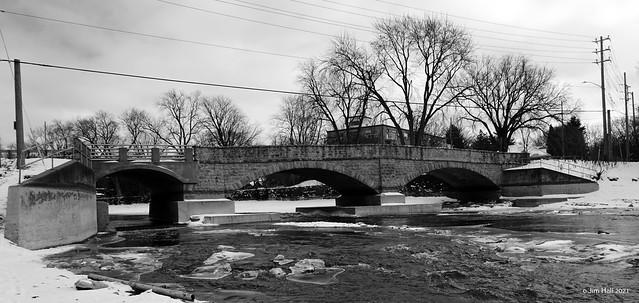 Gow Bridge, Guelph 1897