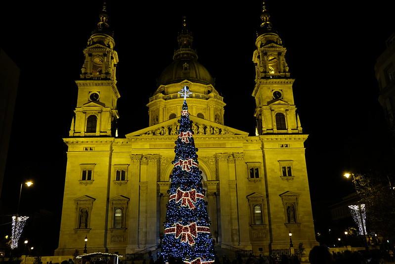 St Stpehen's Square, Budapest, Hungary