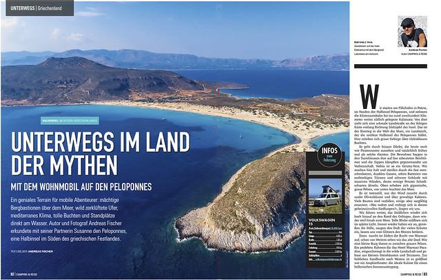 Griechenland: Peloponnes mit dem Campervan 1