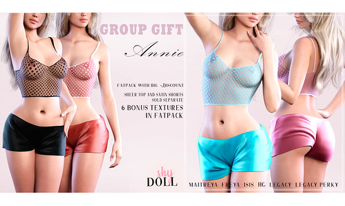 NEw Group GIFT!! Annie set FATPACK
