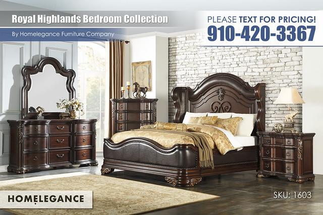 Royal Highlands Bedroom Collection_Homelegance_1603