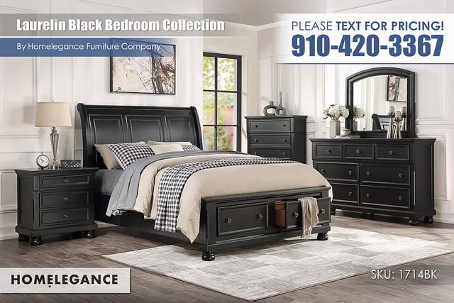 Laurelin Black Bedroom_Homelegance_1714BK1