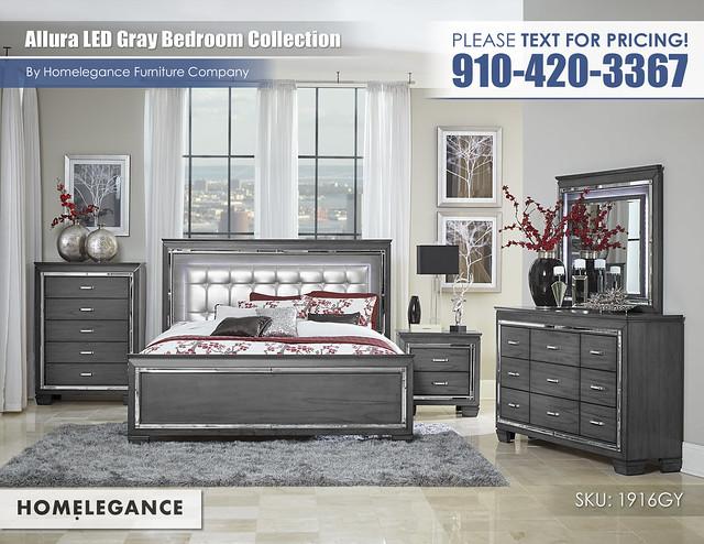Allura Gray Bedroom_Homelegance_1916gy