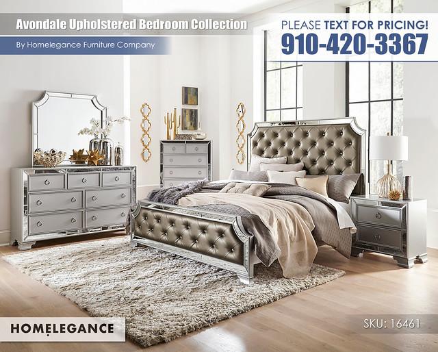 Avondale Upholstered Bedroom_Homelegance_16461_HP