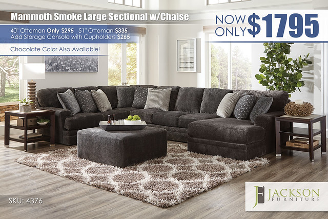 Mammoth Smoke Large Sectional wChaise_4376_Update