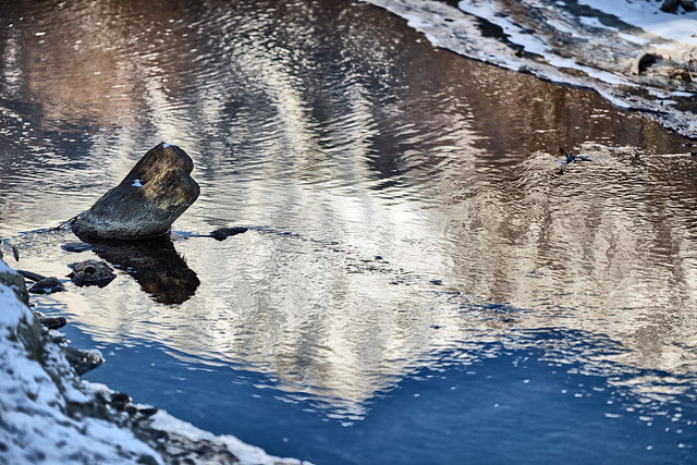 Spiegelbild der Nordkette