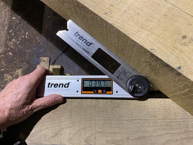 Principal rafter angle check
