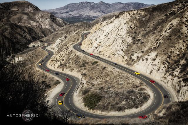 Ferrari Canyon Run