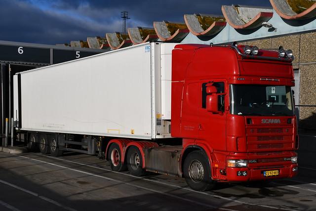 Scania R164L V8 580 - Torben D. Pedersen Ringe - DK  CU 92 665