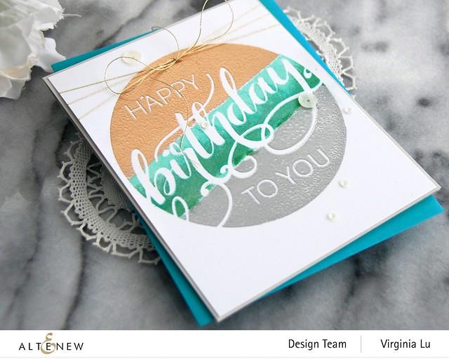 Altenew-Modern Greetings Stamp Set -002