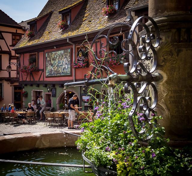 The Medieval Restaurant, Riquewihr, Alsace