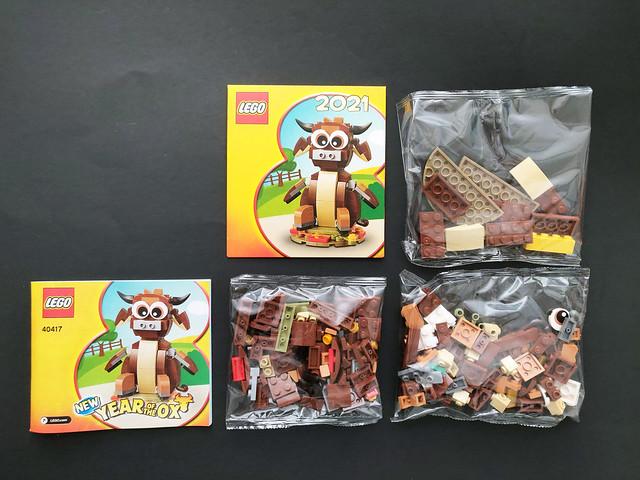 LEGO Seasonal Year of the Ox (40417)