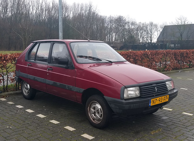 1985 CITROËN Visa Club Phase II