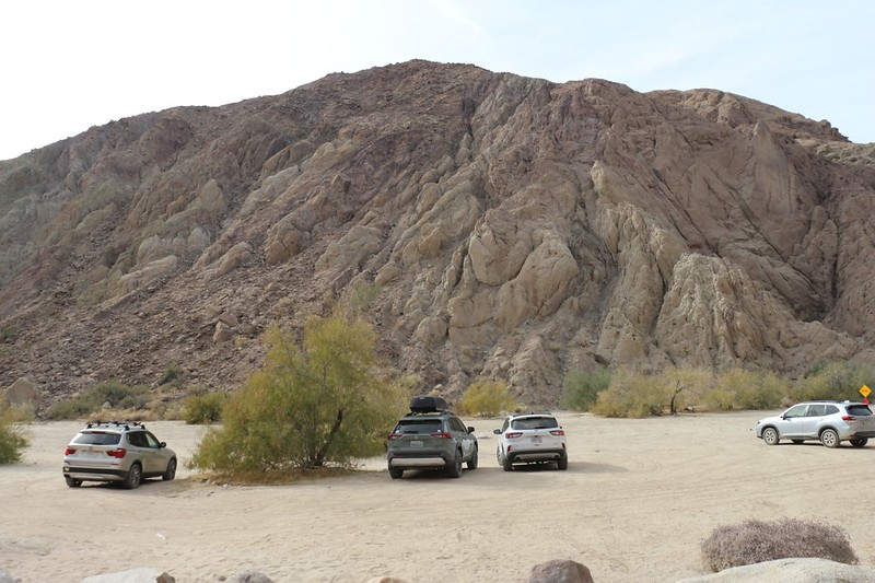 Back at the parking area at Painted Canyon - time to head back home