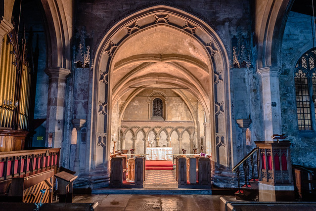 St Mary's, Devizes, Interior