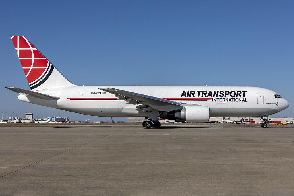 N255CM - Boeing 767-223ER(BSDF)- Air Transport Int'l - KATL - Jan 2021