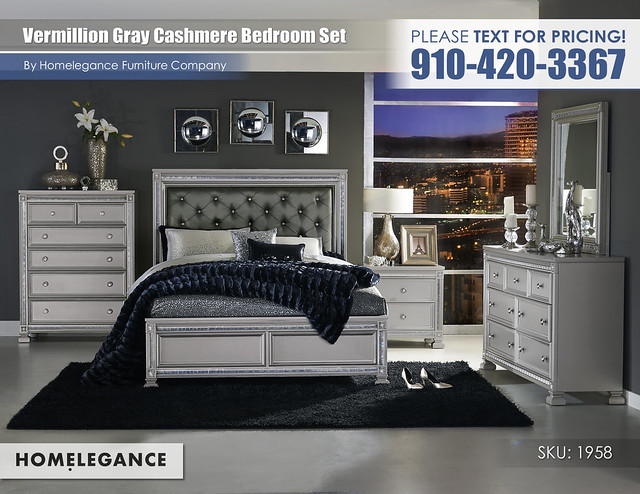 Vermillion Cashmere Gray Bedroom_Homelegance_1958