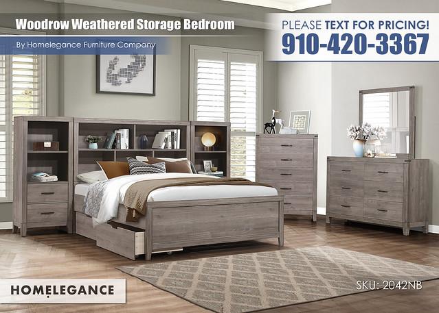 Woodrow Weathered Storage Bedroom_Homelegance_2042NB1
