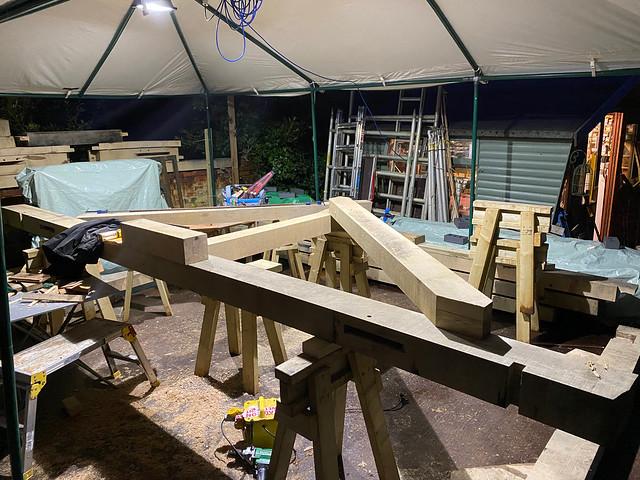 First principal rafter lay up