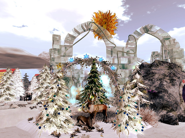 Second Life Endowment For The Arts - Spirit of the Christmas Sleigh Team