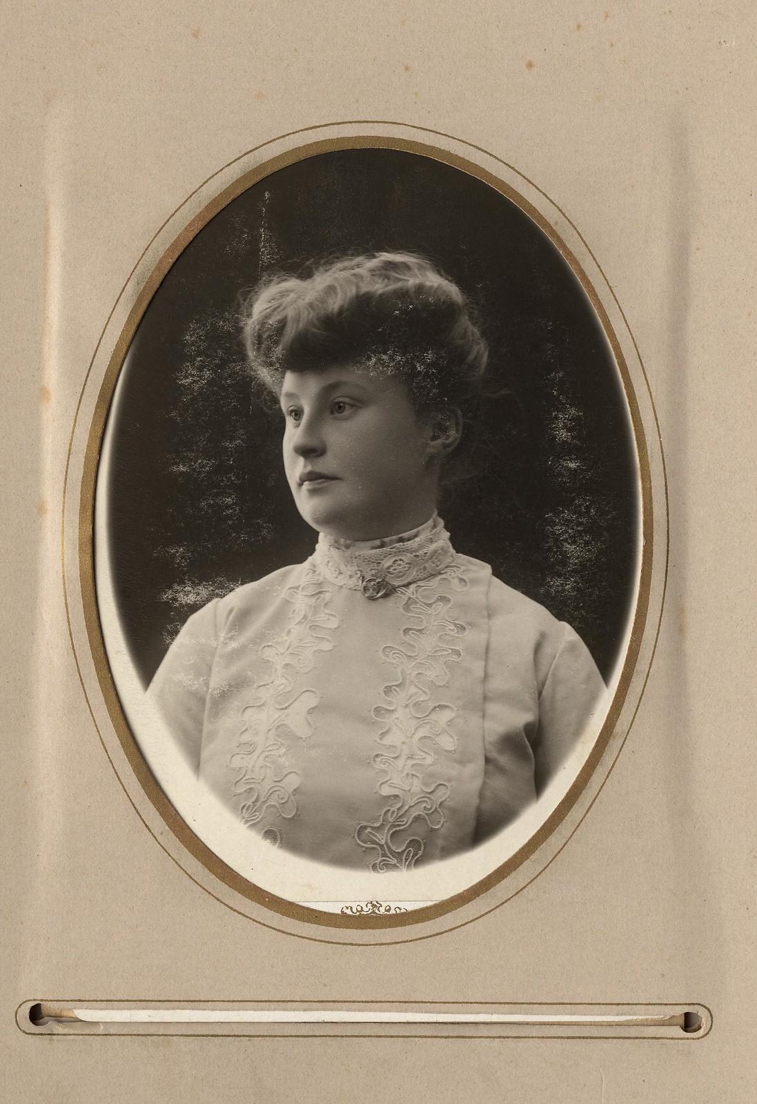 Портрет супруги Домишкевича