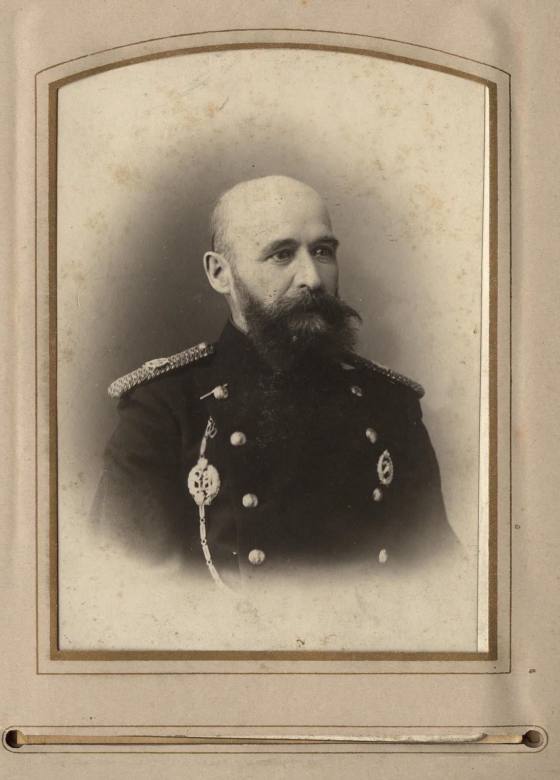 А.Г. Мале, начальник бригады Иркутского добровольного пожарного объединения