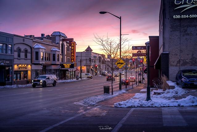 Arcada Theater on Main Street | St. Charles, Illinois