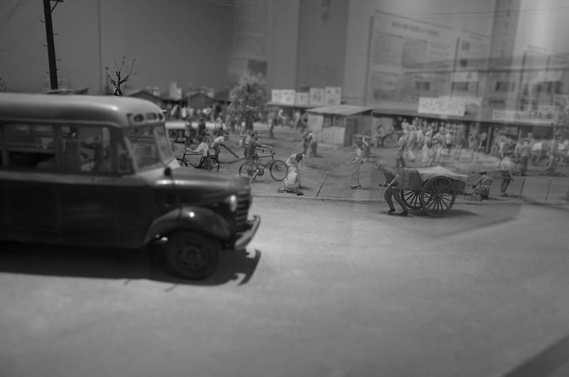 23Ricoh GR2西池袋IKEBiz豊島区立郷土資料館池袋戦後闇市模型