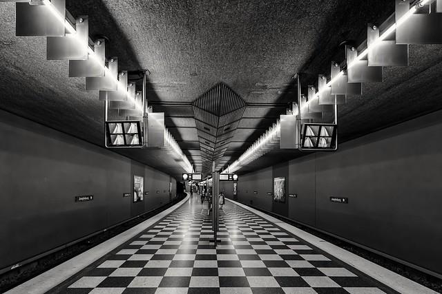 Munich Underground U-Bahn