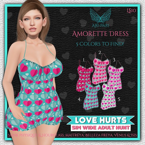 [Ari-Pari] Amorette Dress Hunt Key