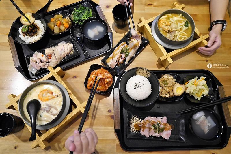 嘉義平價美食|呷飯廳(醉雞飯/油雞飯/鍋燒類/商務便當/梅花肉飯) 2021/1