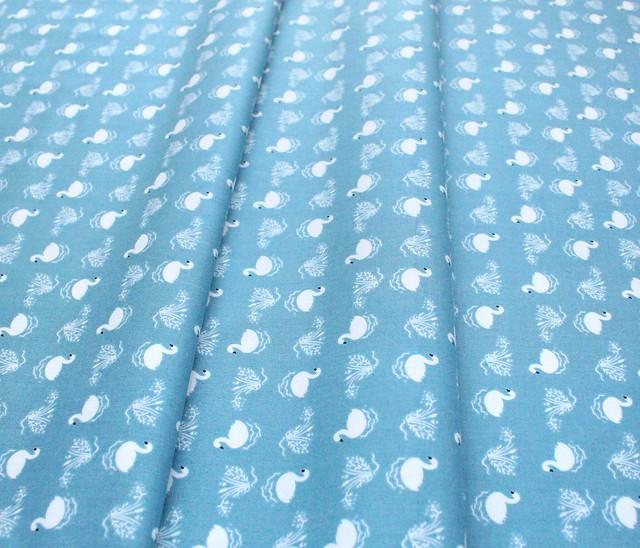 Studio E Fabrics Bella Ballerina 5363-11 Small Swans