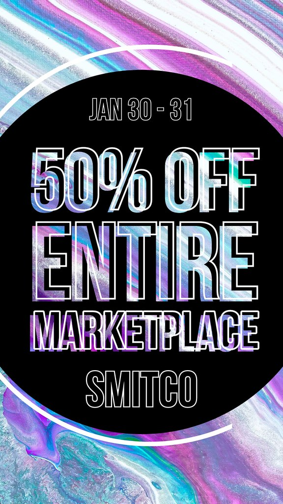 Flash Sale | Marketplace Only | Jan 30-31