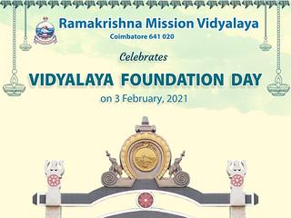 Vidyalaya Foundation Day 03 Feb 2021 : Invitation