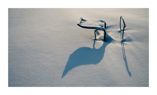 snow chair abandoned fujifilm x100v vanveenjf minimal winter rust lonely cold white abstract