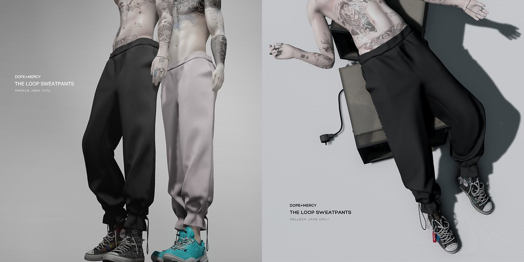 [Dope+Mercy]The Loop Sweatpants @Planet29 Event