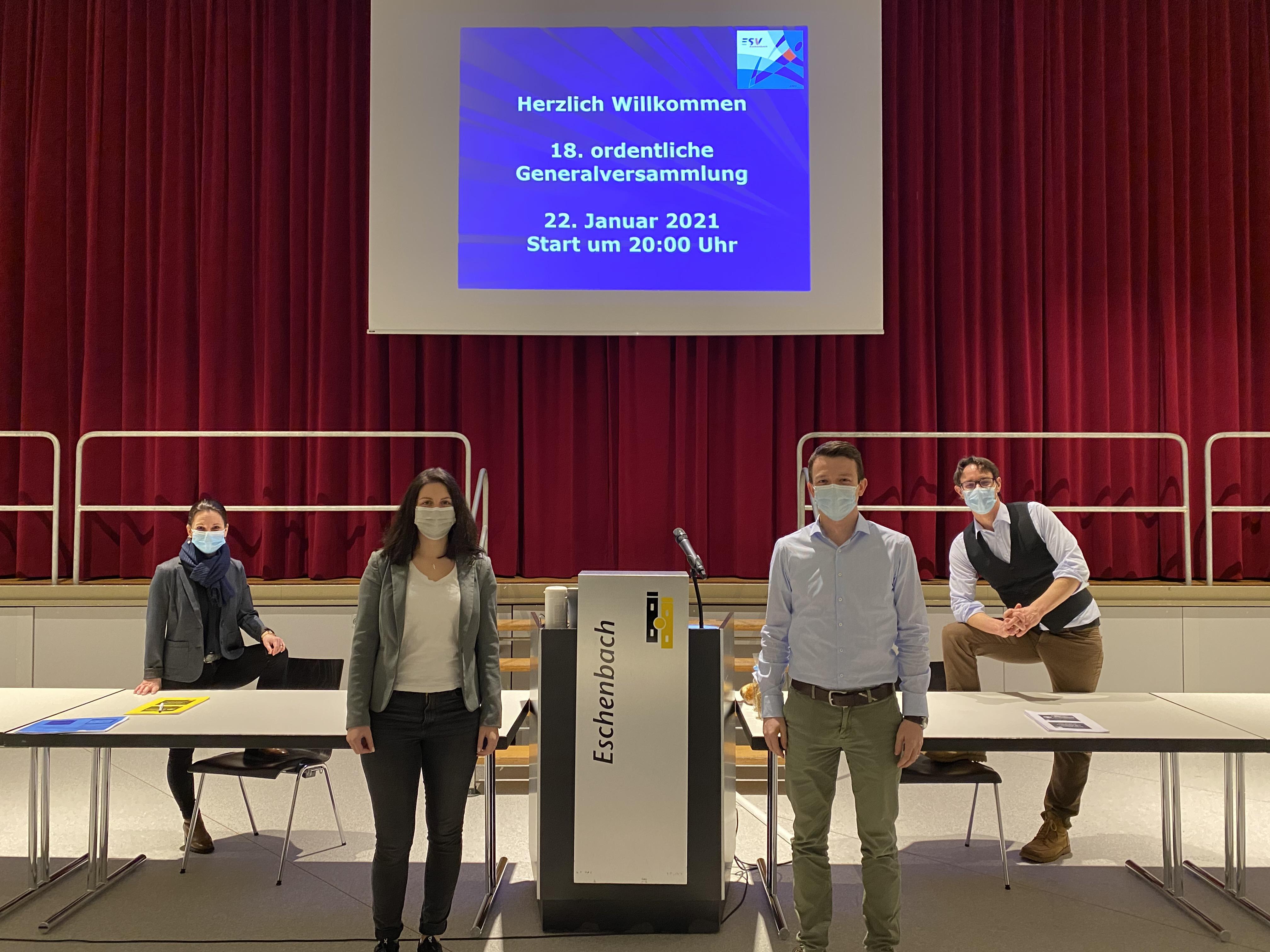 18. ordentliche Generalversammlung ESV Eschenbach