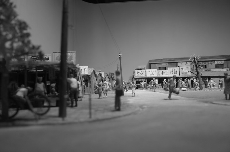 24Ricoh GR2西池袋IKEBiz豊島区立郷土資料館池袋戦後闇市模型