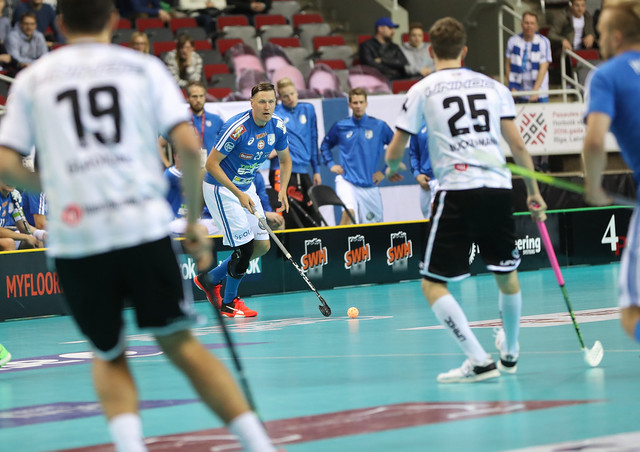Finland vs Germany - Floorball World Championships 2016 - WFC2016 - 03/12/2016 - Riga Arena, Riga, Latvia - Game Day 1 - Pool A Preliminary Round - ©Ville Vuorinen - NO UNPAID USE ALLOWED, FOR THE USE OF FINNISH FLOORBALL FEDERATION ONLY!!  NORM