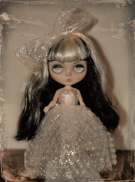 The Bubble Wrap Couture Dress