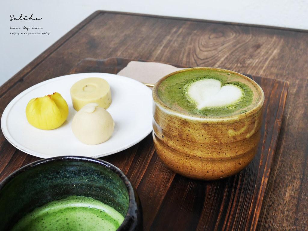 台北內湖咖啡廳推薦珍珠菓子下午茶和果子日式點心甜點氣氛好文德站碧湖公園 (2)