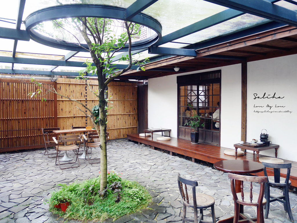 台北ig咖啡廳內湖區下午茶推薦珍珠菓子日式茶屋和果子點心甜典抹茶碧湖公園 (3)