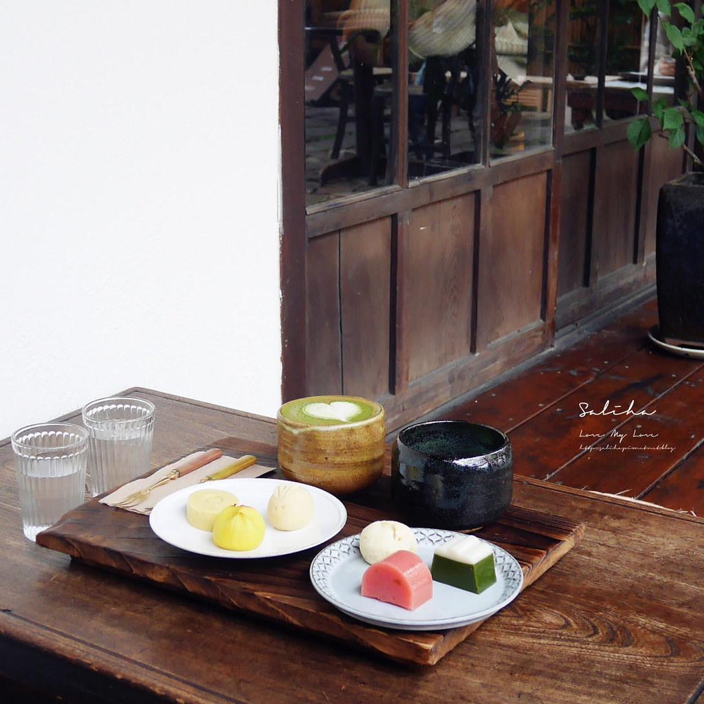 台北內湖咖啡廳推薦珍珠菓子下午茶和果子日式點心甜點氣氛好文德站碧湖公園 (1)